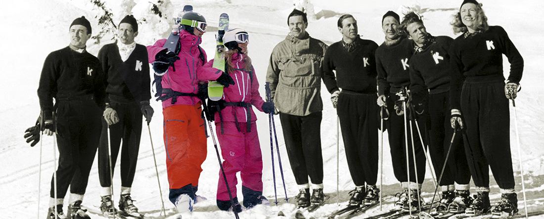 Nye og gamle skiløpere
